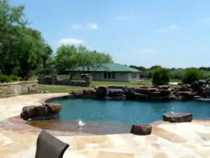 Swimming Pool Design by Landscape Design Company in Dallas TX